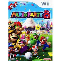 Mario Party 8 (Wii)...leave this on DS