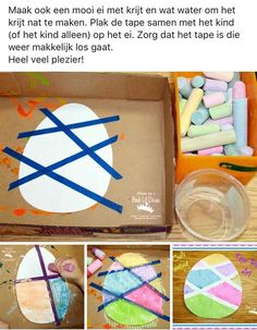 spring kids crafts Ei versieren met krijt craft for teachers Easter Crafts For Toddlers, Toddler Crafts, Easter With Kids, Easter Ideas For Kids, Spring Crafts For Kids, Kids Fun, Daycare Crafts, Preschool Crafts, Free Preschool