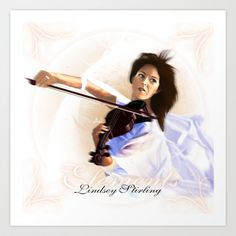 Elements Lindsey Stirling Art Print by Asilh87 - $28.08