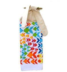 Küche Handtuch Handtuch hängen farbige Fische von SuesAkornShop, $7.00