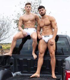 Josh Watson and Reno Gold Mr Muscle, Menswear, Social Media, Shit Happens, Swimwear, Modeling, Truck, Texas, Search