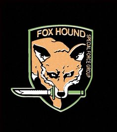 Metal Gear Solid Fox Hound Cover case for iphone 4 5 6 plus samsung galaxy mini Note 2 3 4 Goat Games, Gear Logo, The Fox And The Hound, Metal Gear Solid, The Villain, Fun Games, 6s Plus, Game Art, Iphone Cases