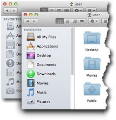 SideEffects brings the color back in your monochrome Mountain Lion sidebar.  PS: It uses SIMBL - in case you don't want that. #osx #apple #mac