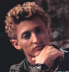 Alex Winter, other guy from Bill and Ted, also played a small part in the Lost boys movie