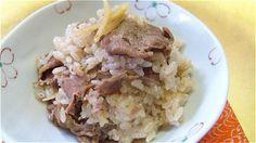Beef & Ginger-Seasoned Rice