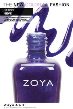Zoya Nail Polish in Neve from the Satins Fall 2013 Edition - ORDER NOW!