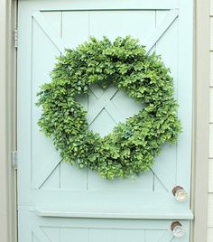 Boxwood Wreath Faux Boxwood Wreath Artificial Boxwood