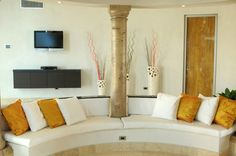 Living Room in Anguilla, Caribbean.