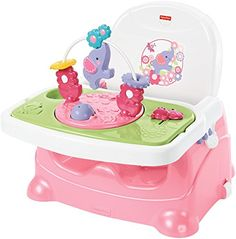 used a version of this with each baby, its cheap (like 28$, portable, dishwasher safe, has a built in toy, built in tray with spots for food, its priceless)