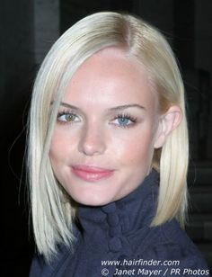 one length bob hairstyles | ... Hairstyles › Celebrity Hairstyles › Kate Bosworth Hairstyles. This is for you summer! :)