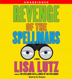 "Lisa Lutz fans! Her ""Revenge of the Spellmans"" (A Novel The Spellman Files, Book 3) is on #Sale for only $5.99 thru 12/9. Sample it here: amblingbooks.com/books/view/revenge_of_the_spellmans"