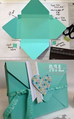 Envelope Punch Board: Card Box Tutorial 2019 Envelope Punch Board: Make a Gift Box for Cards! Video Tutorial by LovenStamps The post Envelope Punch Board: Card Box Tutorial 2019 appeared first on Scrapbook Diy. Box Cards Tutorial, Card Tutorials, Diy Envelope Tutorial, Diy Tutorial, Diy Envelope Template, Origami Box Tutorial, Origami Envelope, Photo Tutorial, Video Tutorials