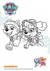ausmalbilder paw patrol zum ausdrucken - malvorlagen für kinder | bastelarbeiten | ausmalbilder