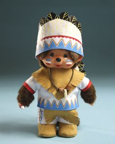 Monchhichi indian