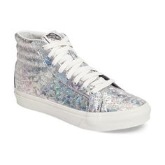 On SALE at 51% OFF! sk-8 hi slim hologram print sneaker by Vans. A futuristic hologram print updates a favorite old-school sneaker with a slimmed-down profile for standout street-rea...