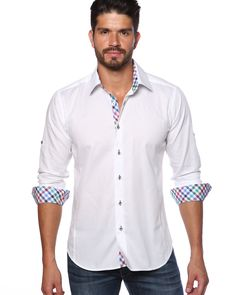 Jared lang shirts - Light blue designer shirt for men | Jared Lang ...