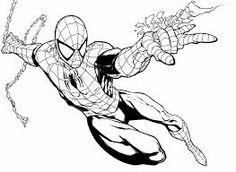 Resultado de imagem para riscos de desenho homem aranha