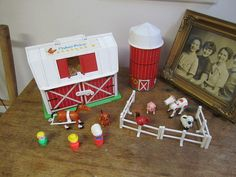Fisher Price Farm With Silo and Figures. Fisher by ontherebound