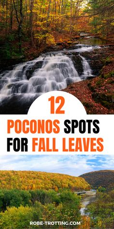 Click here for the ultimate guide to seeing the fall foliage in the Poconos. We share 12 of the best scenic drives in the Poconos to see fall leaves, the best nature areas in the Pocnos for fall foliage and where to stay in the Poconos for fall foliage | Fall Travel | USA Travel | America Travel | Poconos Travel | Pennsylvania Travel | Fall Trips | Autumn Leaves in the Poconos | Autumn Leaves in Pennsylvania | Lake Wallenpaupack | Delaware State Park | Bushkill Falls | Ricketts Glen State…