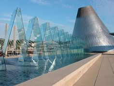 Museum of Glass,Tacoma, WA. 2006. Arthur Erickson