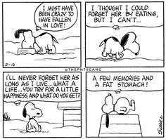 #thepntsgang #pnts #schulz #snoopy #crazy #fallen #love #forget #her #eating #life #little #happiness #few #memories #fat #stomach