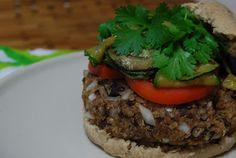 Hearty Helpings: Black Bean Quinoa Burgers