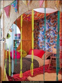 Moroccan Bedroom Decorating Ideas   ... decorating ideas - bohemian chic bedroom - Gypsy style Boho Boutique