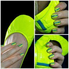 Neon Yellow Tiek Flats & OPI Life Gave Me Lemons. http://www.blingfinger.net/2014/05/neon-yellow-tiek-flats-opi-life-gave-me.html