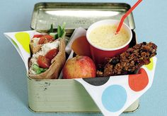 Lunch box tips: Fill up on fibre, avoid sweets, opt for 100% juice or plain water, include oil fish once a week
