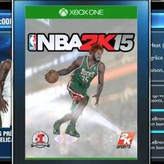 Je vous présente la nouvelle jaquette de NBA 2K15 !