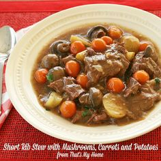Recipes, Food and Cooking Beat the Heat Short Rib Stew » Recipes, Food and Cooking