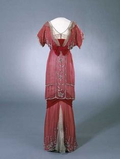 Dress    1910-1913    Nasjonalmuseet for ...