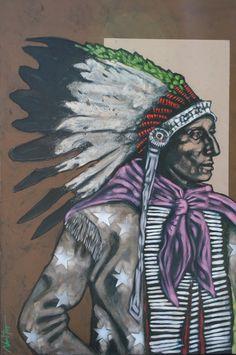 fine native art and culture | Nocona Burgess Native Artwalk | Bonner David Galleries