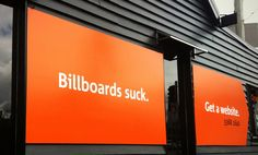 Orange Digital: Billboards Suck. Get a Website.