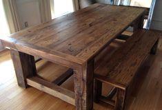 Wood Dining Room Table With Bench обновлено: June 12, 2016 автором: Linda Carpenter