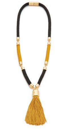 Holst + Lee Tao Tassel Necklace | SHOPBOP