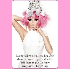 Lady Gaga, love her Lady Gaga Quotes, Angelo Seminara, Celebration Quotes, Pink Hair, Role Models, My Idol, Persona, Love Her, Celebs