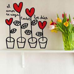 Un regalo de San Valentín para toda la familia: vinilos Chispum #unamamanovata #SanValentin #vinilos ▲▲▲ www.unamamanovata.com ▲▲▲