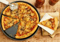 Pizza enak & mudah (no knead dough)