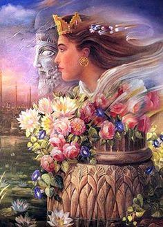 Iran Politics Club: Persian Warrior Queens, Princesses, Commanders 1 – Ahreeman X