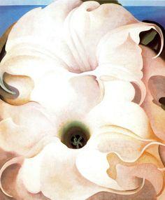 Georgia O'Keeffe Two Flowers