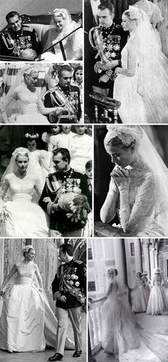 Grace Kelly and Prince Rainer III of Monaco                                                                                                                                                                                 More