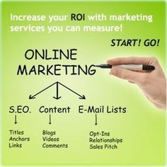 Increase your ROI with marketing services you can measure. Seo Digital Marketing, Online Marketing Services, Multi Level Marketing, Influencer Marketing, Inbound Marketing, Seo Services, Internet Marketing, Marketing And Advertising, Marketing Ideas