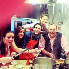 What a fun day cooking with #mariobatali and friends. @Eataly NYC