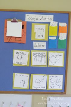 What will the weather be? Our morning weather routine by Teach Preschool