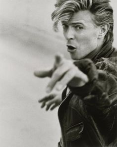 David Bowie pinned with Bazaart
