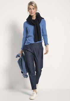 Jeans aus reiner Bio-Baumwolle Jeans, Normcore, Style, Fashion, Reach In Closet, Fashion Women, Cotton, Woman, Swag