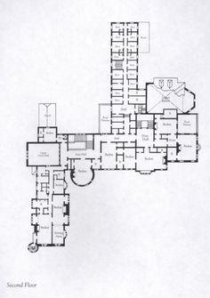 Carey Mansion(Seaview Terrace) Floor Plan | carey mansion newport