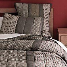 I love the Applique Stripe Quilt + Shams on westelm.com