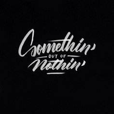 Brooklyn based designer Ricardo Gonzalez focuses on lettering, typography, calligraphy & typeface design. Hand Drawn Lettering, Graffiti Lettering, Types Of Lettering, Brush Lettering, Lettering Design, Graffiti Drawing, Typography Love, Typography Quotes, Typography Letters